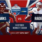 Oakland Raiders v Seattle Seahawks at Wembley Stadium