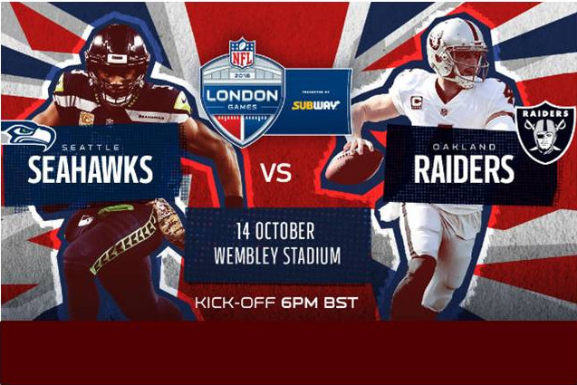 Oakland Raiders v Seattle Seahawks at Wembley Stadium post thumbnail